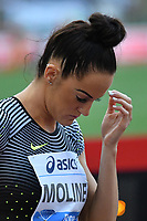 Georganne MOLINE USA 400m Hurdles women <br /> Roma 03-06-2016 Stadio Olimpico <br /> IAAF Diamond League Golden Gala <br /> Atletica Leggera<br /> Foto Andrea Staccioli / Insidefoto