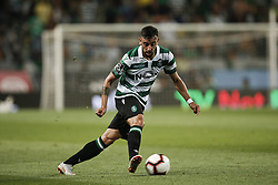 September 1, 2018 - Lisbon, Portugal - Bruno Fernandes of Sporting in action  during Primeira Liga 2018/19 match between Sporting CP vs CD Feirense, in Lisbon, on September 1, 2018. (Credit Image: © Carlos Palma/NurPhoto/ZUMA Press)