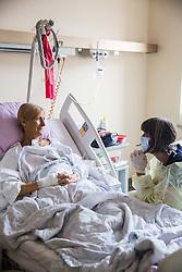 Ill women in hospital, on August 15, 2016 in UKC Ljubljana, Ljubljana, Slovenia. Photo by Vid Ponikvar / Sportida