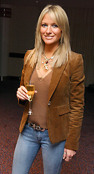 ALEX BEST at a sales event for the exclusive Chelsea Bridge Wharf in aid of CLIC Sargeant cancer charity held at Stamford Bridge football stadium, Chelsea, London on 7th February 2006.<br />