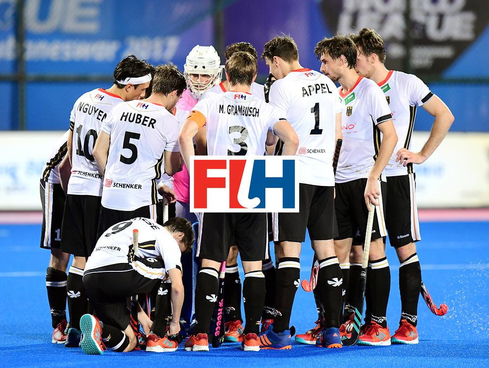 Odisha Men's Hockey World League Final Bhubaneswar 2017<br /> Match id:20<br /> Australia v Germany<br /> Foto: Mark Appel (Ger) <br /> COPYRIGHT WORLDSPORTPICS FRANK UIJLENBROEK