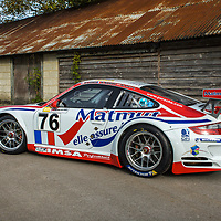 #76, Porsche 911 GT3 RSR, IMSA Matmut, photographed at Laverstoke, UK, 2018