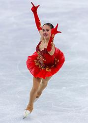 23-02-2018 KOR: Olympic Games day 14, PyeongChang<br /> Ladies Single Skating Free Skating / Gold medal for Alina Zagitova RUS