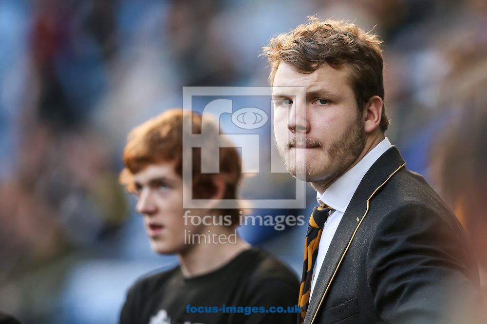 Joe Launchbury of Wasps before the Aviva Premiership match at the Ricoh Arena, Coventry<br /> Picture by Andy Kearns/Focus Images Ltd 0781 864 4264<br /> 08/01/2017