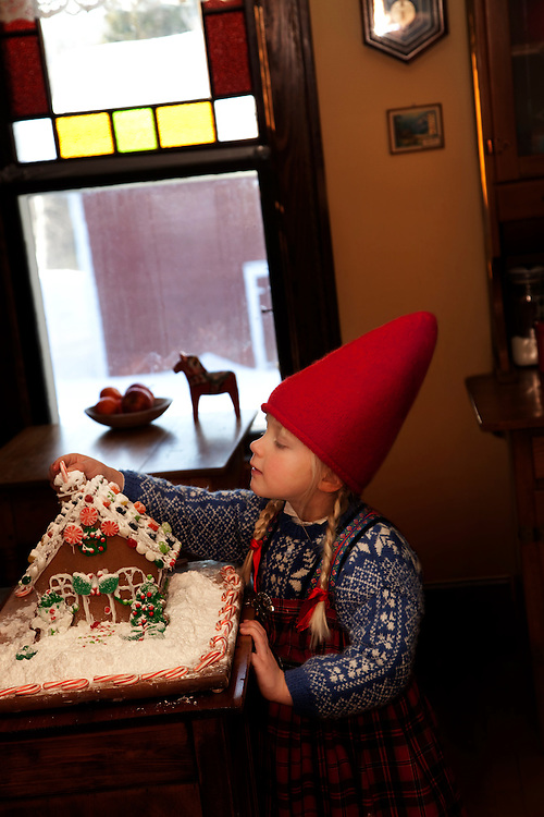 The Christmas Wish, a photographic fairy tale by Lori Evert and Per Breiehagen