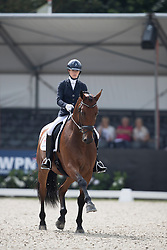 Fry Charlotte, GBR, Graaf Leatherdale T<br /> World Championship Young Dressage Horses <br /> Ermelo 2016<br /> © Hippo Foto - Dirk Caremans<br /> 28/07/16