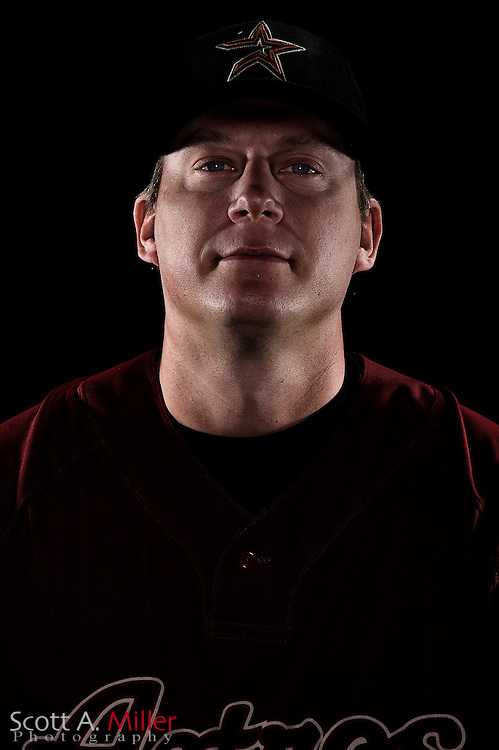 Feb. 21, 2009; Kissimmee, FL, USA; Houston Astros infielder Geoff Blum during photo day at Osceola County Stadium. .©2009 Scott A. Miller
