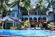 interior of holiday resort in kovalam, kerala, india