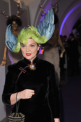 LULU GUINNESS at The Surrealist Ball in aid of the NSPCC in association with Harpers Bazaar magazine held at the Banqueting House, Whitehall, London on 17th March 2011.