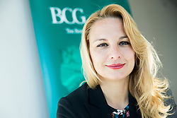 Melanie Seier Larsen  is a core member of the People & Organization practice at The Boston Consulting Group. She is also a member of the Consumer practice. Portrait made on April 21, 2017 in Kristalna palaca, BTC, Ljubljana, Slovenia. Photo by Vid Ponikvar / Sportida