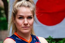 13-10-2018 JPN: World Championship Volleyball Women day 14, Nagoya<br /> Portraits Dutch Volleybal Team - Kirsten Knip #1 of Netherlands