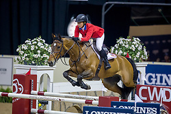 Madden Beezie, USA, Simon<br /> World Cup Final Jumping - Las Vegas 2015<br /> © Hippo Foto - Dirk Caremans<br /> 17/04/2015