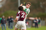 Division 4 Final at Dunsany 30-10-11.Bective vs Ballivor.Marty Mulhall (Bective) & David Raleigh (Ballivor).Photo: David Mullen / www.cyberimages.net © 2011