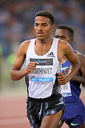 Hagos Gebrhiwet (ETH) places third in the 5,000m in 12:54.92during the 39th Golden Gala Pietro Menena in an IAAF Diamond League meet at Stadio Olimpico in Rome on Thursday, June 6, 2019. (Jiro Mochizuki/Image of Sport)