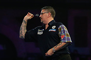 Gary Anderson during the PDC World Championship darts at Alexandra Palace, London, United Kingdom on 14 December 2018.