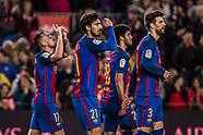 FC Barcelona and Osasuna 27 April 2017