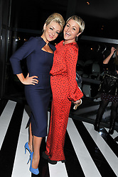 Left to right, SHERIDAN SMITH and JAIME WINSTONE at the InStyle Best of British Talent Event in association with Lancôme and Avenue 32 held at The Rooftop Restaurant, Shoreditch House, Ebor Street, London E1 on 30th January 2013.