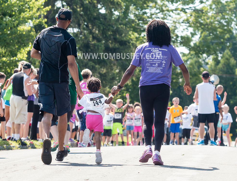 Middletown, New York - The Ruthie Dino-Marshall 5K Run and Fun Walk was held on Sunday, June 11, 2017. The funds raised by the event benefit the Middletown School District Ruthie Dino-Marshall Memorial Fund and the YMCA of Middletown summer camp scholarship fund.