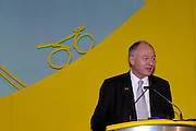 Ken Livingstone, Mayor of London at the official launch of London hosting the Prologue and Stage One of the 2007 Tour de France held at the Queen Elizabeth 2 Conference Centre on Thursday 9th February 2006.