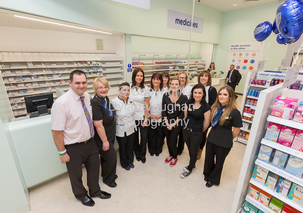 Repro free No Charge for Repro<br /> 1-10-14<br /> <br />  <br /> Pictured at the official opening of the new Boots store at Mac Donagh Junction Shopping Centre in Kilkenny on the 1st of October was the staff of the new store.<br /> <br /> <br /> <br /> <br /> Picture Dylan Vaughan