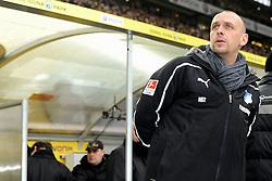 "28.01.2012, Signal Iduna Park, Dortmund, GER, 1. FBL, Borussia Dortmund vs 1899 Hoffenheim, 19. Spieltag, im Bild Holger Stanislawski (Hoffenheim Trainer) // during the football match of the german ""Bundesliga"", 19th round, between GER, 1. FBL, Borussia Dortmund and 1899 Hoffenheim, at the Signal Iduna Park, Dortmund, Germany on 2012/01/28. EXPA Pictures © 2012, PhotoCredit: EXPA/ Eibner/ Ulrich Roth..***** ATTENTION - OUT OF GER *****"