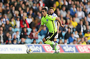 Brighton central midfielder, Beram Kayal (7) breaks forwradduring the Sky Bet Championship match between Leeds United and Brighton and Hove Albion at Elland Road, Leeds, England on 17 October 2015.