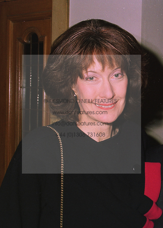 LADY MONTAGU OF BEAULIEU at a dinner in London on 17th November 1997.<br /> MDI 24 WOLO