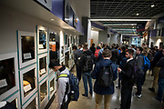 GU students tour Spokane Arena  Oct. 19. (GU photo by Gavin Doremus)