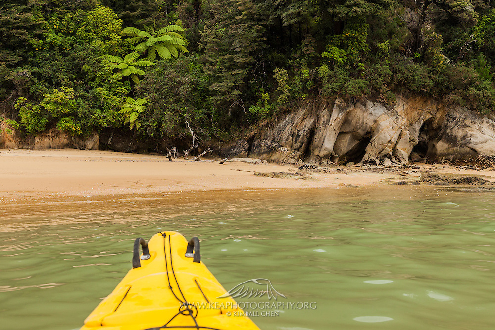 Kayaking at Abel Tasman, New Zealand