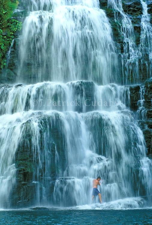 Exploring Nayaca Falls, Baru River, Costa Rica