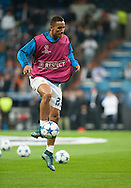 Danilo of Real Madrid during the UEFA Champions League match at the Estadio Santiago Bernabeu, Madrid<br /> Picture by Marcos Calvo Mesa/Focus Images Ltd +34 654142934<br /> 03/11/2015