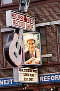 Legendary Ernest Tubb Record Shop in Nashville, TN.