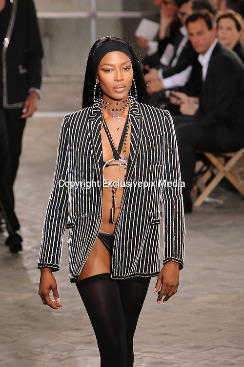 NAOMI CAMPBELL - GIVENCHY MEN FASHION SHOW , SPRING - SUMMER 2016 .<br /> &copy;Exclusivepix Media