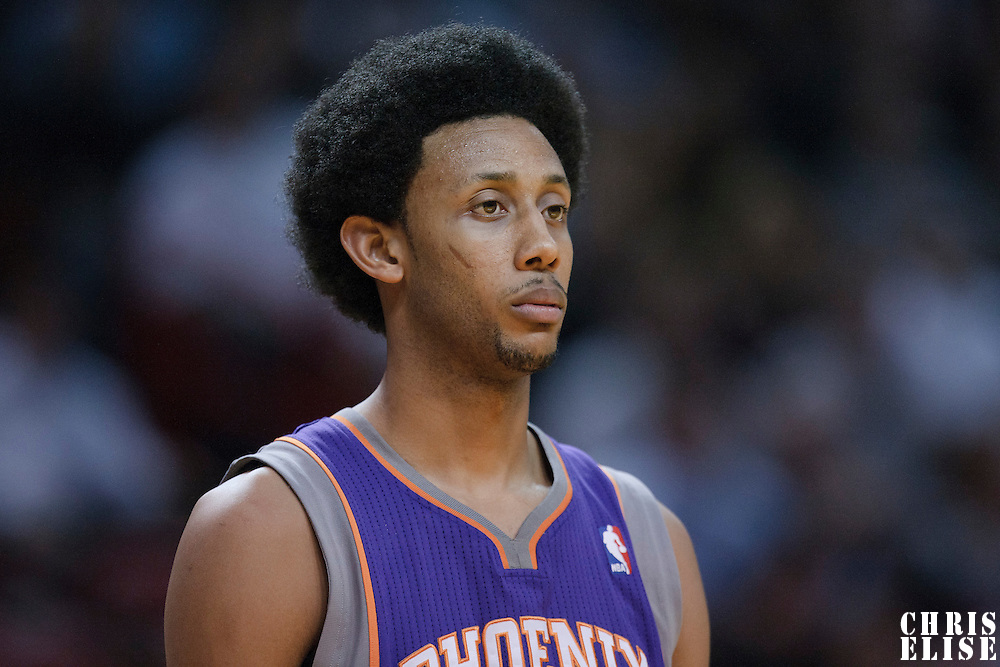 17 November 2010:  Phoenix Suns' shooting guard #1 Josh Childress is seen during the Miami Heat 123-96 victory over the Phoenix Suns at the AmericanAirlines Arena, Miami, Florida, USA.