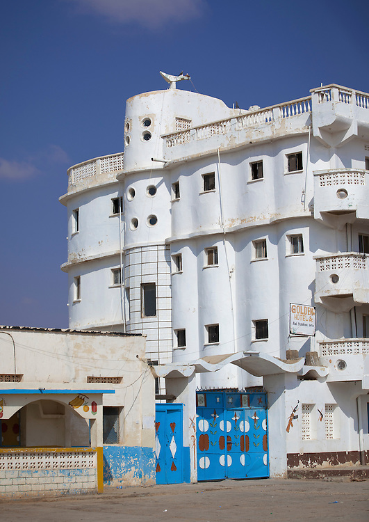 Abandoned Titanic Hotel Building In Burao Somaliland