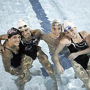 Natural born swimmers-nuotatori disabili, Milano, 2014. Alessia Berra, Giulia Ghiretti, Federcio Morlacchi, Arjola Trimi