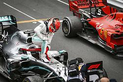May 26, 2019 - Monte Carlo, Monaco - Motorsports: FIA Formula One World Championship 2019, Grand Prix of Monaco, ..#44 Lewis Hamilton (GBR, Mercedes AMG Petronas Motorsport) (Credit Image: © Hoch Zwei via ZUMA Wire)