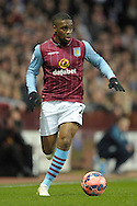 Charles N'Zogbia of Aston Villa in action. The FA cup, 6th round match, Aston Villa v West Bromwich Albion at Villa Park in Birmingham, Midlands on Saturday 7th March 2015<br /> pic by John Patrick Fletcher, Andrew Orchard sports photography.