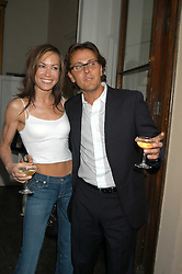 TARA PALMER-TOMKINSON and   at the Tatler Summer Party in association with Moschino at Home House, 20 Portman Square, London W1 on 29th June 2005.<br /><br />NON EXCLUSIVE - WORLD RIGHTS