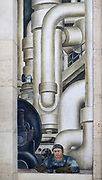 The Detroit Industry Murals are a series of frescoes by the Mexican artist Diego Rivera, consisting of twenty-seven panels depicting industry at the Ford Motor Company. Together they surround the Rivera Court in the Detroit Institute of Arts. Painted between 1932 and 1933, they were considered by Rivera to be his most successful work..