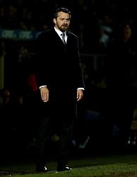 Manager of Fulham Slavisa Jokanovic - Mandatory by-line: Robbie Stephenson/JMP - 01/02/2017 - FOOTBALL - Pirelli Stadium - Burton Upon Trent, England - Burton Albion v Fulham - Sky Bet Championship
