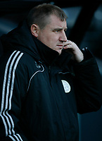 Photo: Steve Bond/Richard Lane Photography. Derby County v Crystal Palace. Coca Cola Championship. 06/12/2008. Paul Jewell on the touchline