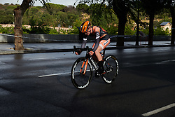 Jolien D'hoore (BEL) at La Madrid Challenge by La Vuelta 2019 - Stage 1, a 9.3 km individual time trial in Boadilla del Monte, Spain on September 14, 2019. Photo by Sean Robinson/velofocus.com
