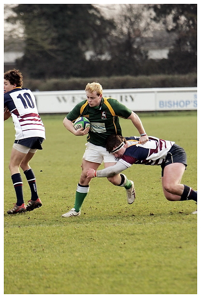 Hertfordshire Stags v Surrey U20's. 29-1-2012...