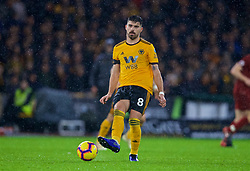 WOLVERHAMPTON, ENGLAND - Friday, December 21, 2018: Wolverhampton Wanderers' Rúben Neves during the FA Premier League match between Wolverhampton Wanderers FC and Liverpool FC at Molineux Stadium. (Pic by David Rawcliffe/Propaganda)