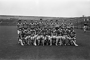 10/09/1967<br /> 09/10/1967<br /> 10 September 1967<br /> Junior Hurling 'Home' Final: Kerry v Wicklow at Croke Park, Dublin. <br /> The Kerry team.