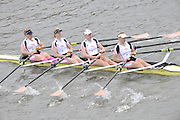 London, Great Britain,   Start No 103 LEANDER IX W Elite 4x-. approach the start at Mortlake, Photo from Chiswick Bridge.  Fullers,  Fours Head of the River Race, Championship Course, Mortlake to Putney, River Thames. Saturday   05/11/2011   [Mandatory Credit. Peter Spurrier/Intersport Images]