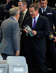 Prime Minister of England, David Cameron - Photo mandatory by-line: Joe Meredith/JMP - Mobile: 07966 386802 - 10/09/14 - The Invictus Opening Ceremony - London - Queen Elizabeth Olympic Park