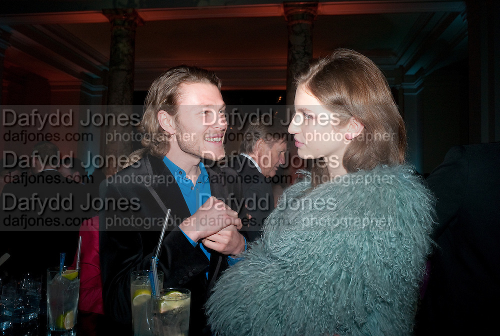 STEPHEN BACCARI; TALI LENNOX, Cecil Beaton private view. V and A Museum. London. 6 February 2012