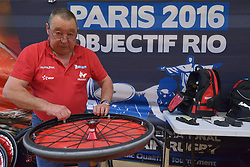 France V USA, Behind the scenes at the 2016 IWRF Rio Qualifiers, Paris, France